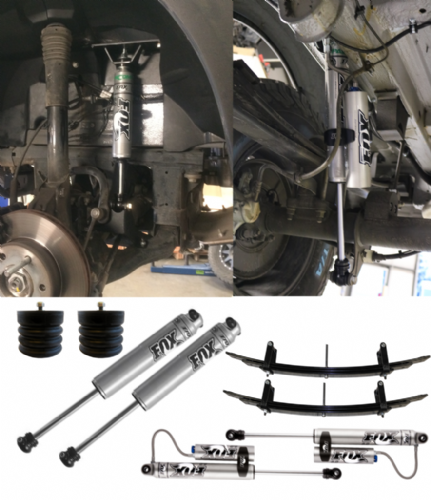 Stage 4 - Van Compass Suspension Package Van With Adjustable Rear Shocks - Sprinter 4X4 (2015+ 2500)